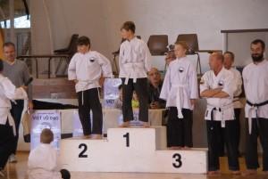 photos de groupe et médaillés